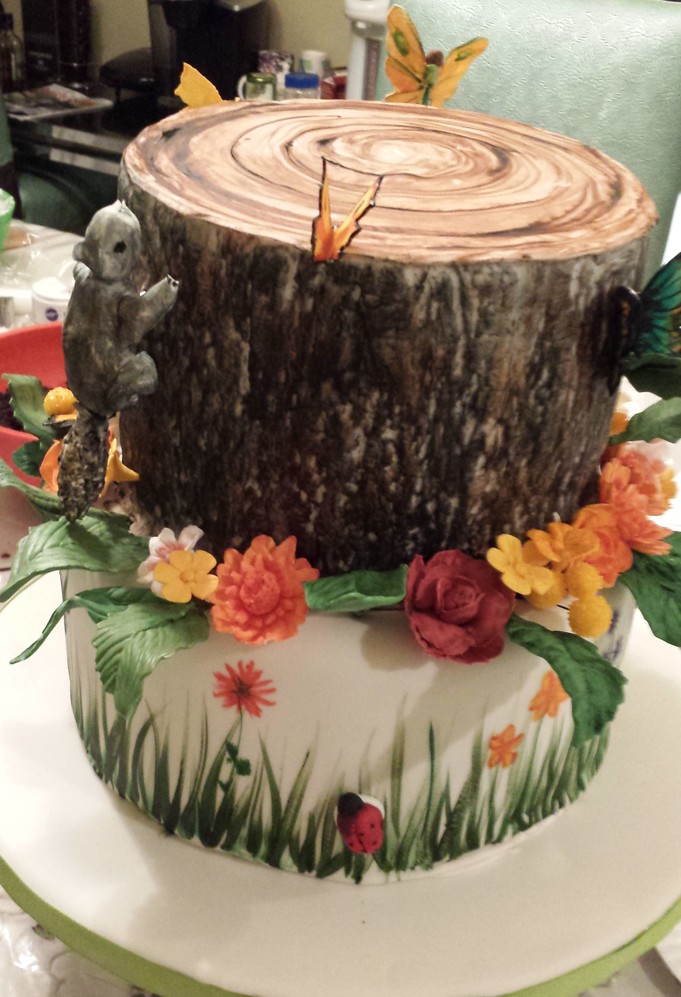 Nature Themed Cake CakeCentralcom