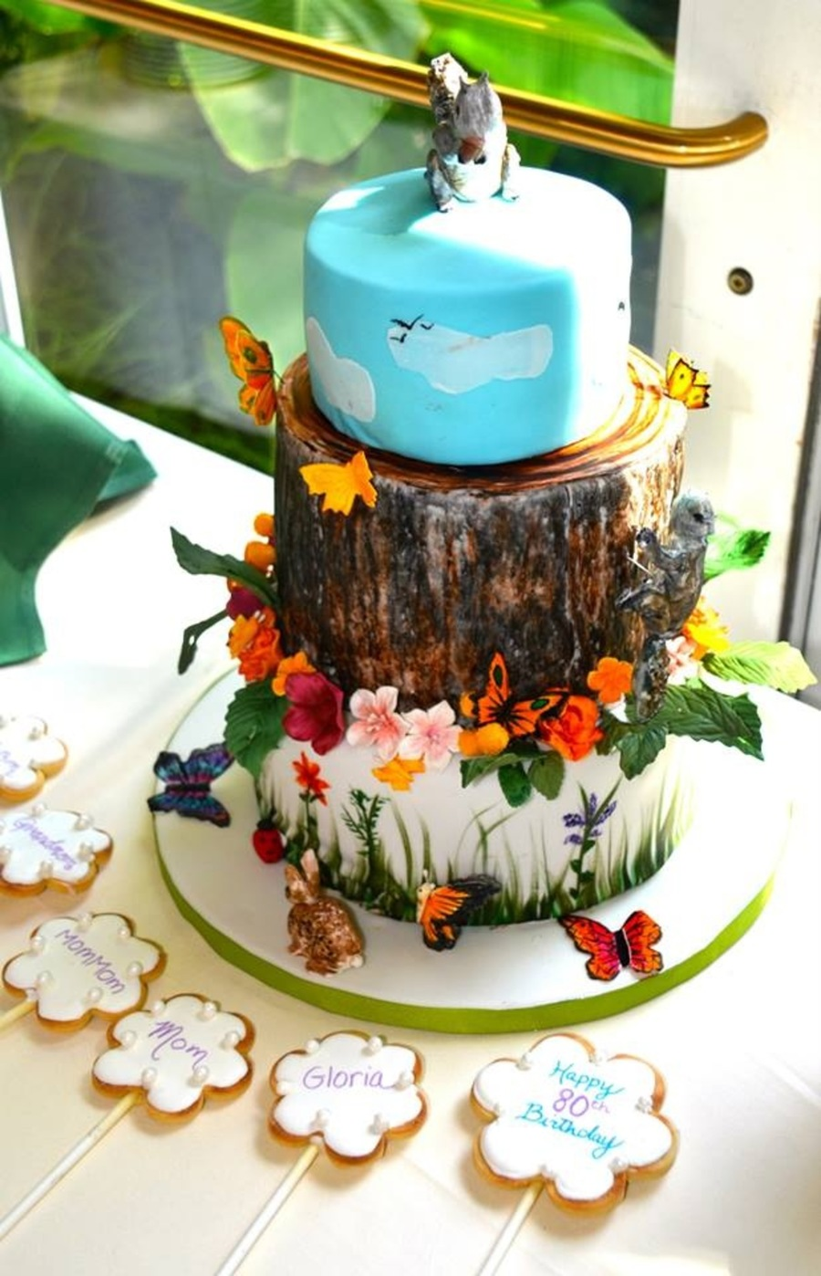 Nature Themed Cake CakeCentralcom