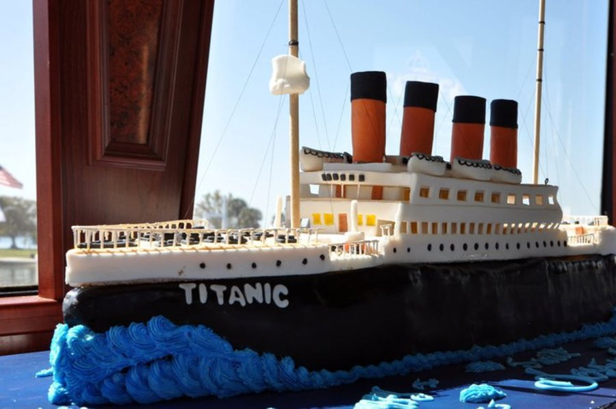 Titanic For A Sweet 16Th Birthday On Cake Central