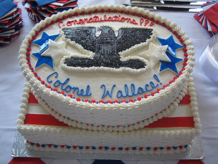 Air force promotion to colonel for Air force cakes decoration