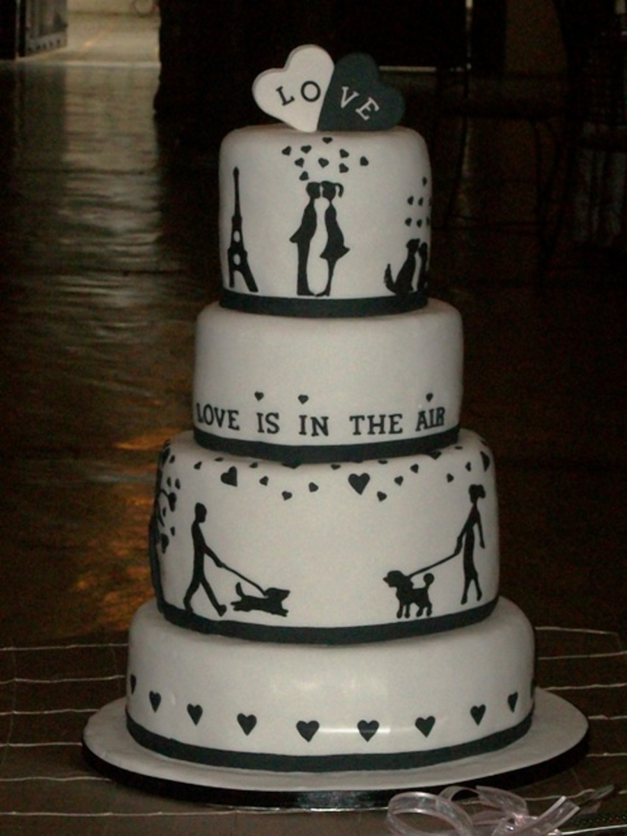 Love Is In The Air on Cake Central