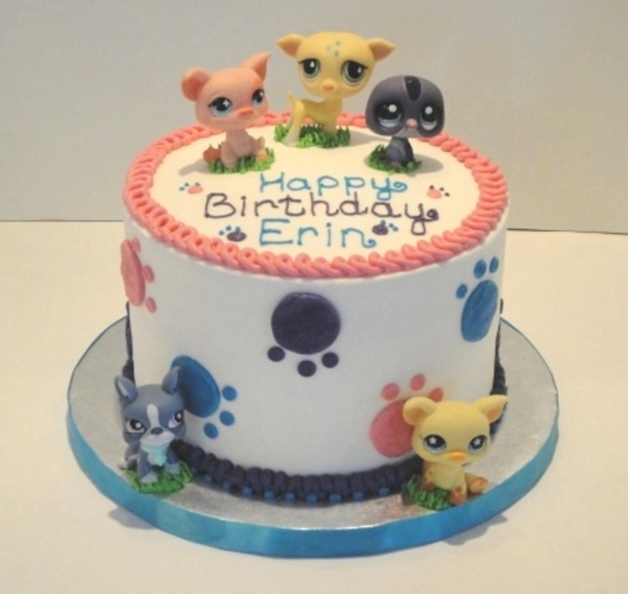 Wondrous Littlest Pet Shop Birthday Cakecentral Com Funny Birthday Cards Online Elaedamsfinfo