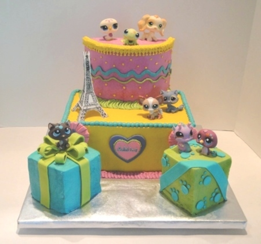 Littlest Pet Shop Present Cake on Cake Central