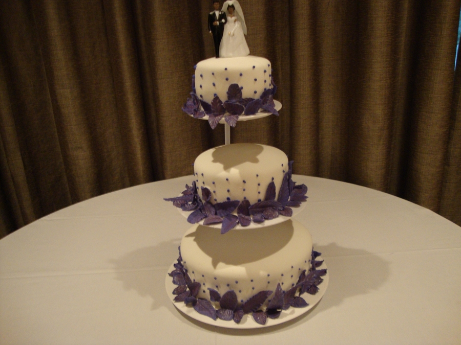 3 Tier Wedding on Cake Central