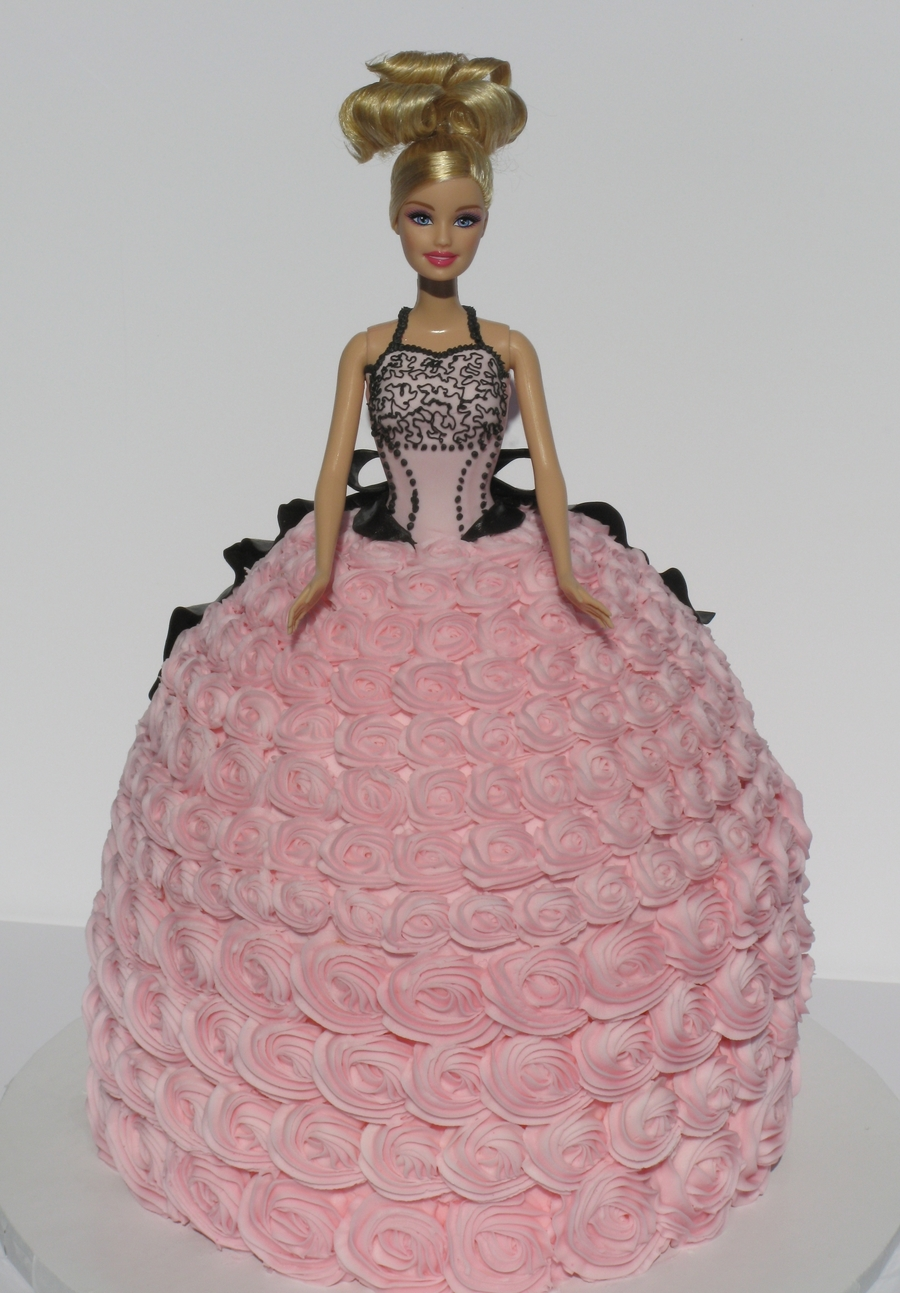 Rosette Princess Barbie on Cake Central