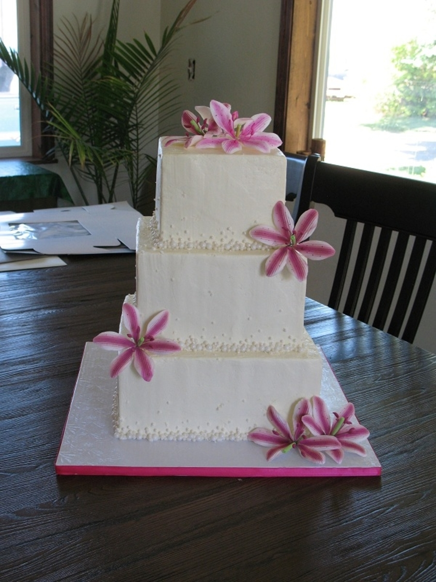 Pearls And Lilies on Cake Central