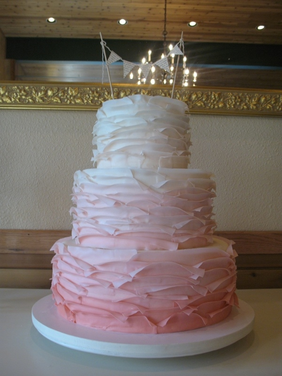 Maggie Austin Inspired Ombre on Cake Central