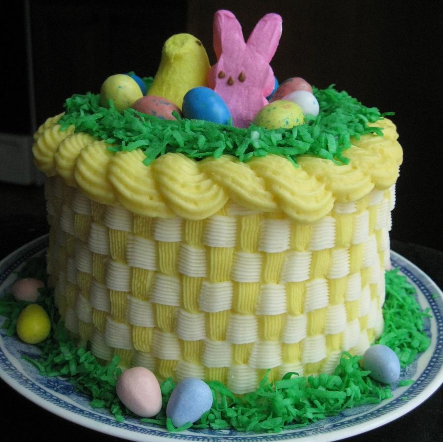 Easter basket cake cakecentral negle Images