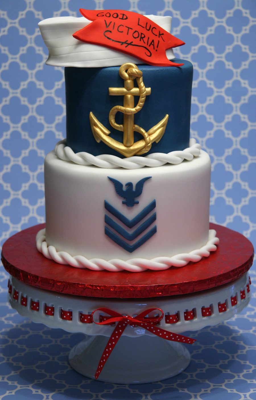 Royal Navy Themed Cakes