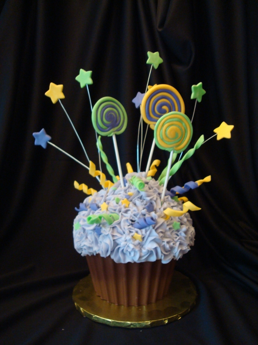 Lollipop Explosion on Cake Central