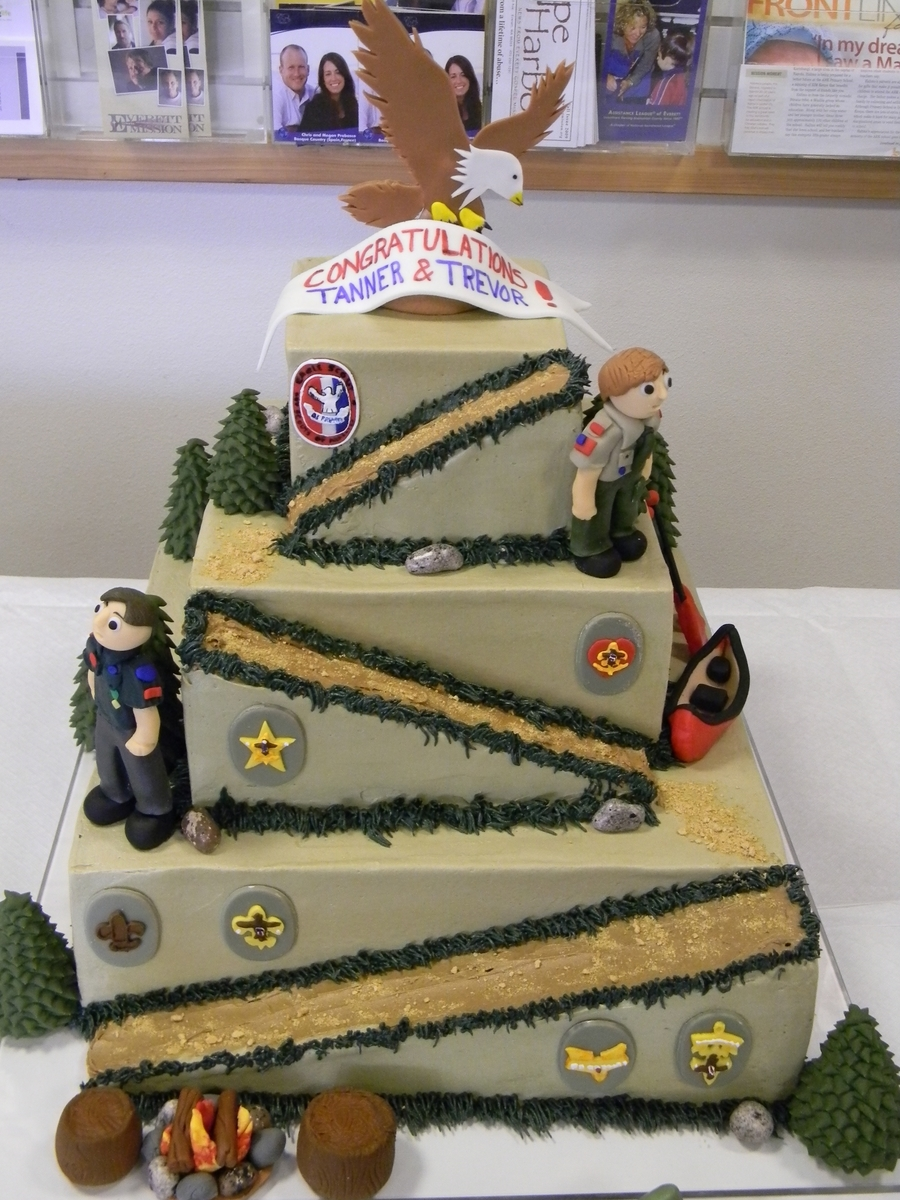 Eagle Scout Cake Cakecentral Com