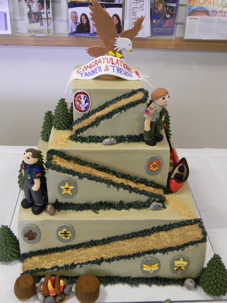 Eagle Scout Cake Cakecentral Com