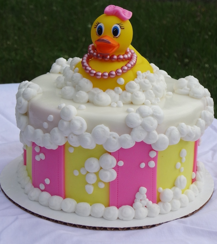 Girly Rubber Ducky Cakecentral Com