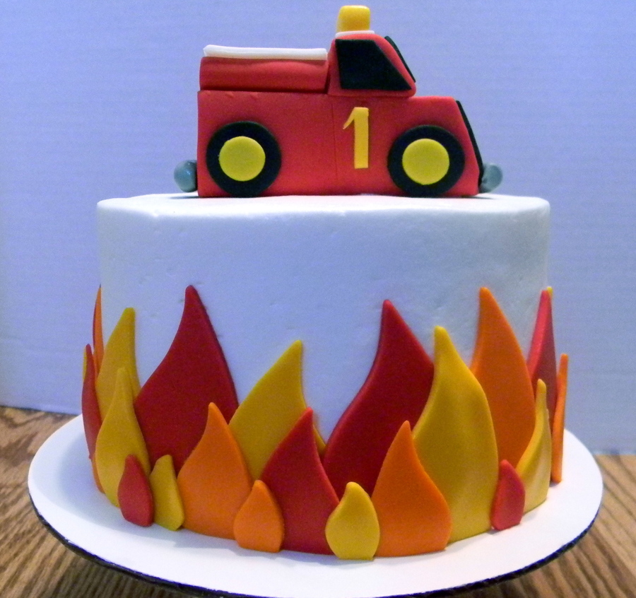 Firefighter Birthday Cake Recipes