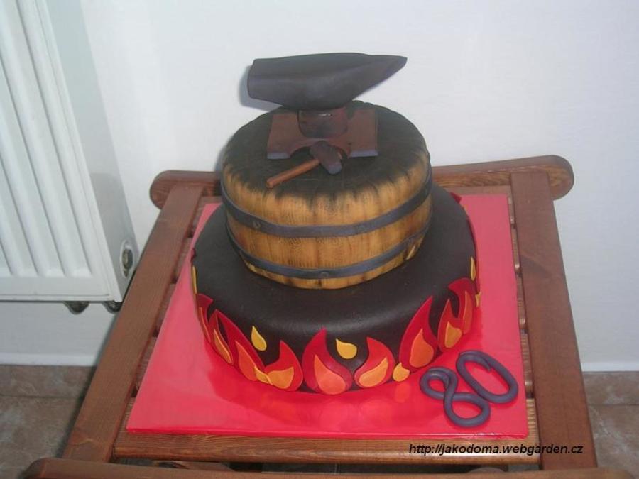 Blacksmith Cake Cakecentral Com