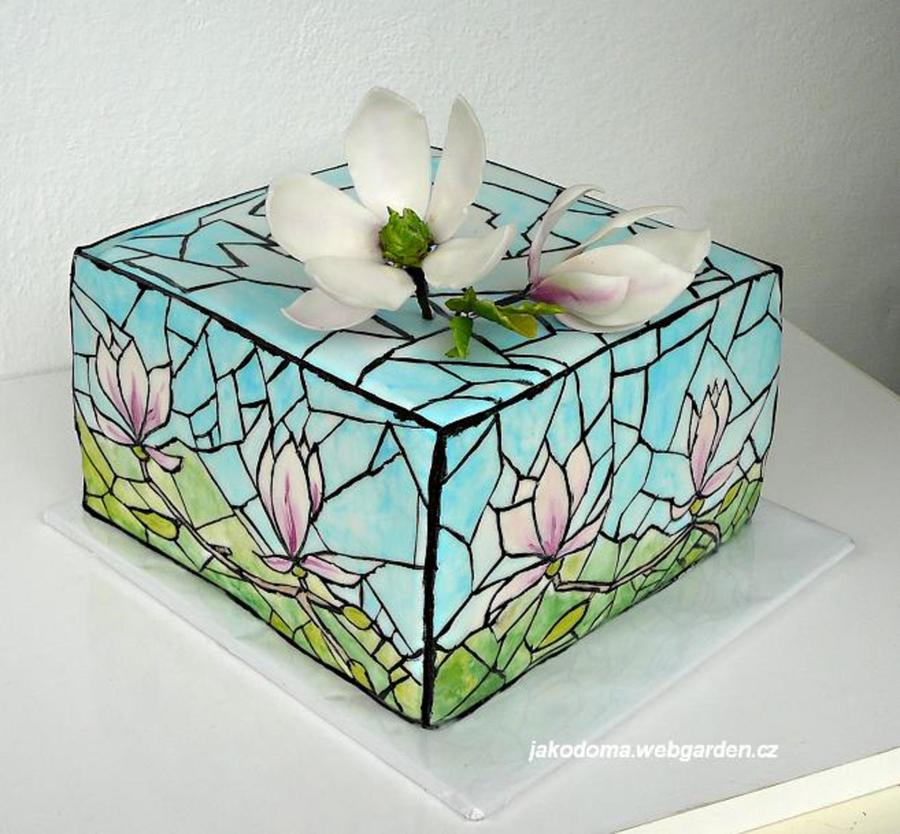 Stained Glass Cake Cakecentral Com