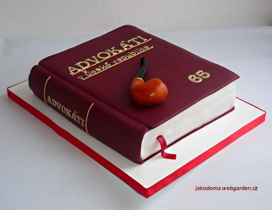 Lawyer S Book Cakecentral Com