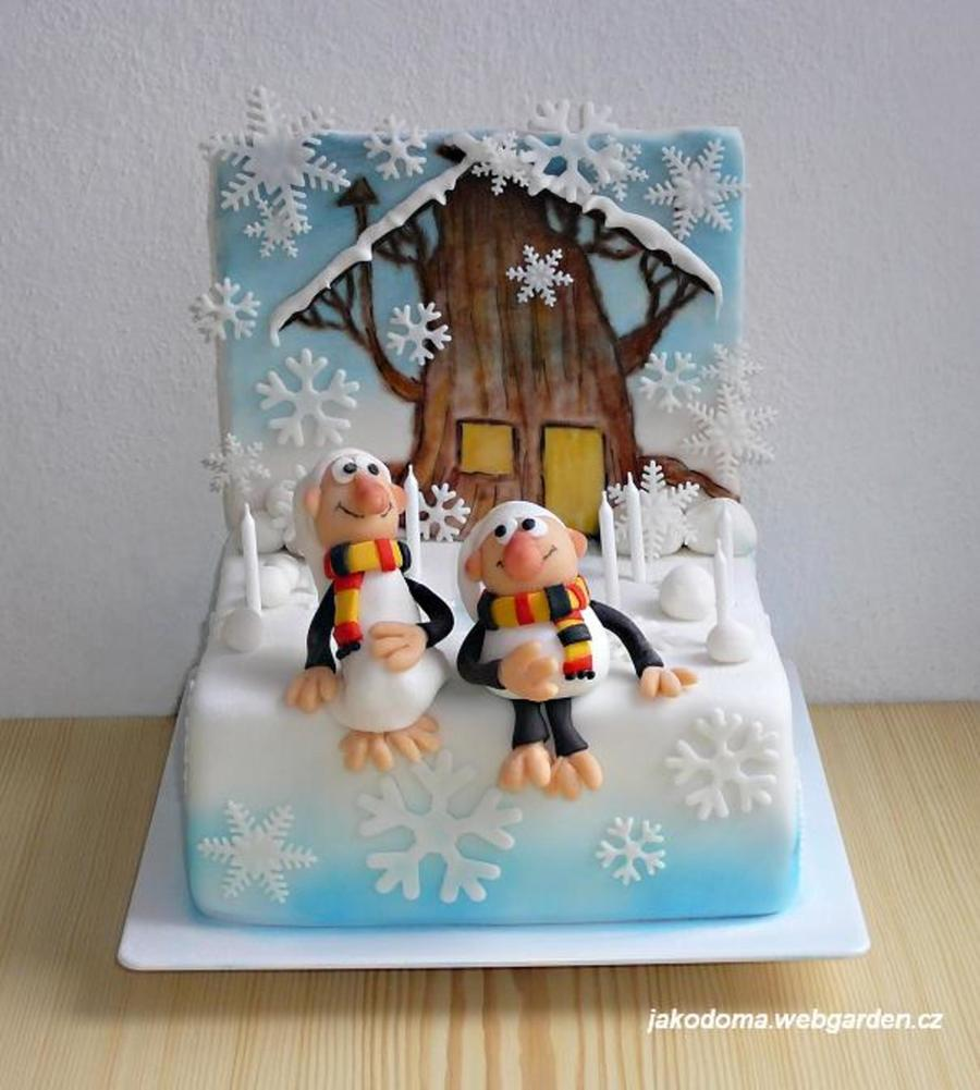 Tales Of Moss And Fern In Winter on Cake Central