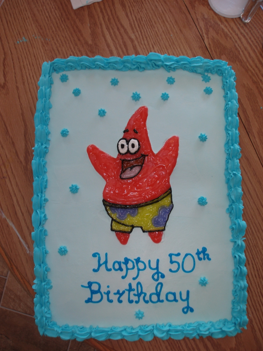 Patrick From Spongebob on Cake Central