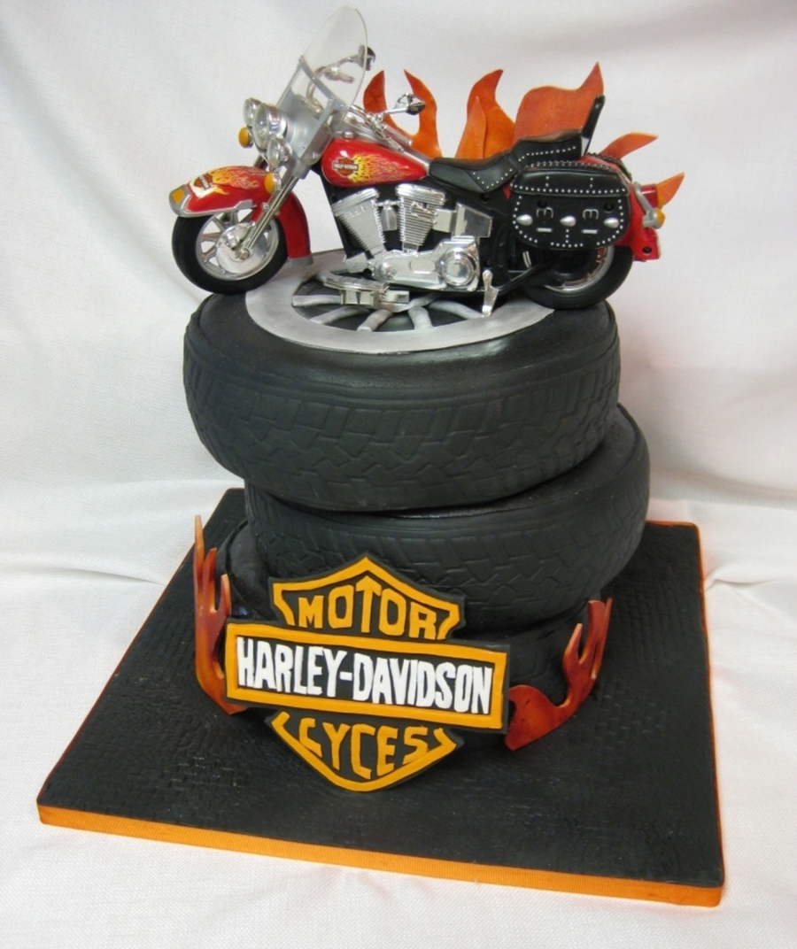 How To Make Cake Tires
