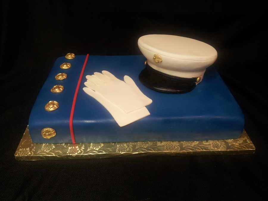 Marine Welcome Home Cake on Cake Central