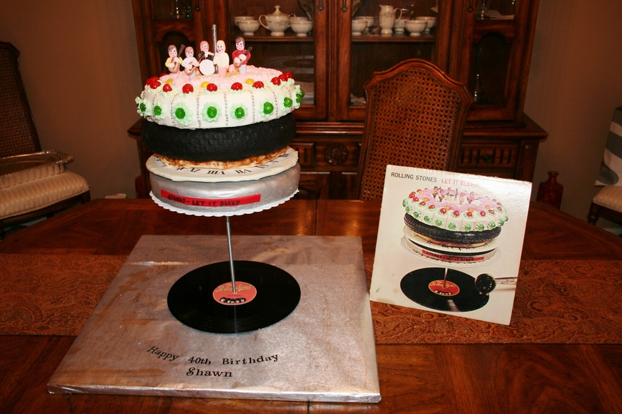 Rolling Stones Let It Bleed Cake Cakecentral Com