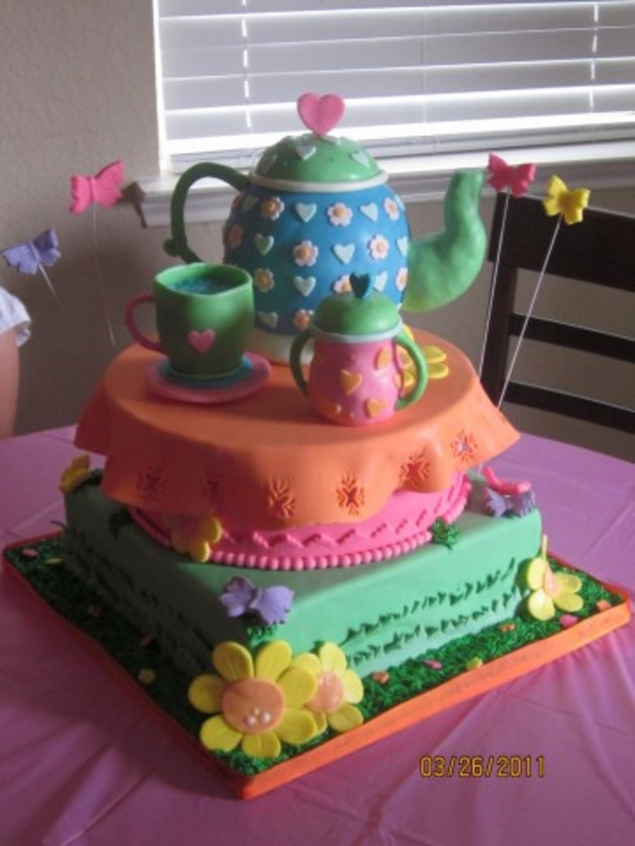Tea Party on Cake Central