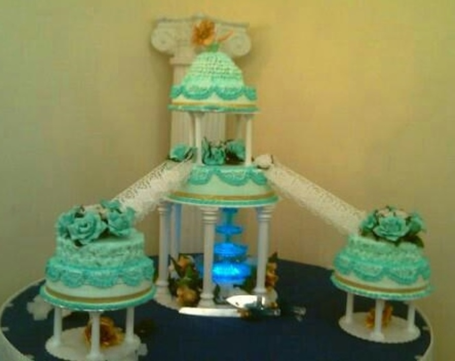Quinceanera Pastel 3 Leches Quinceanera 3 Milk Cake on Cake Central