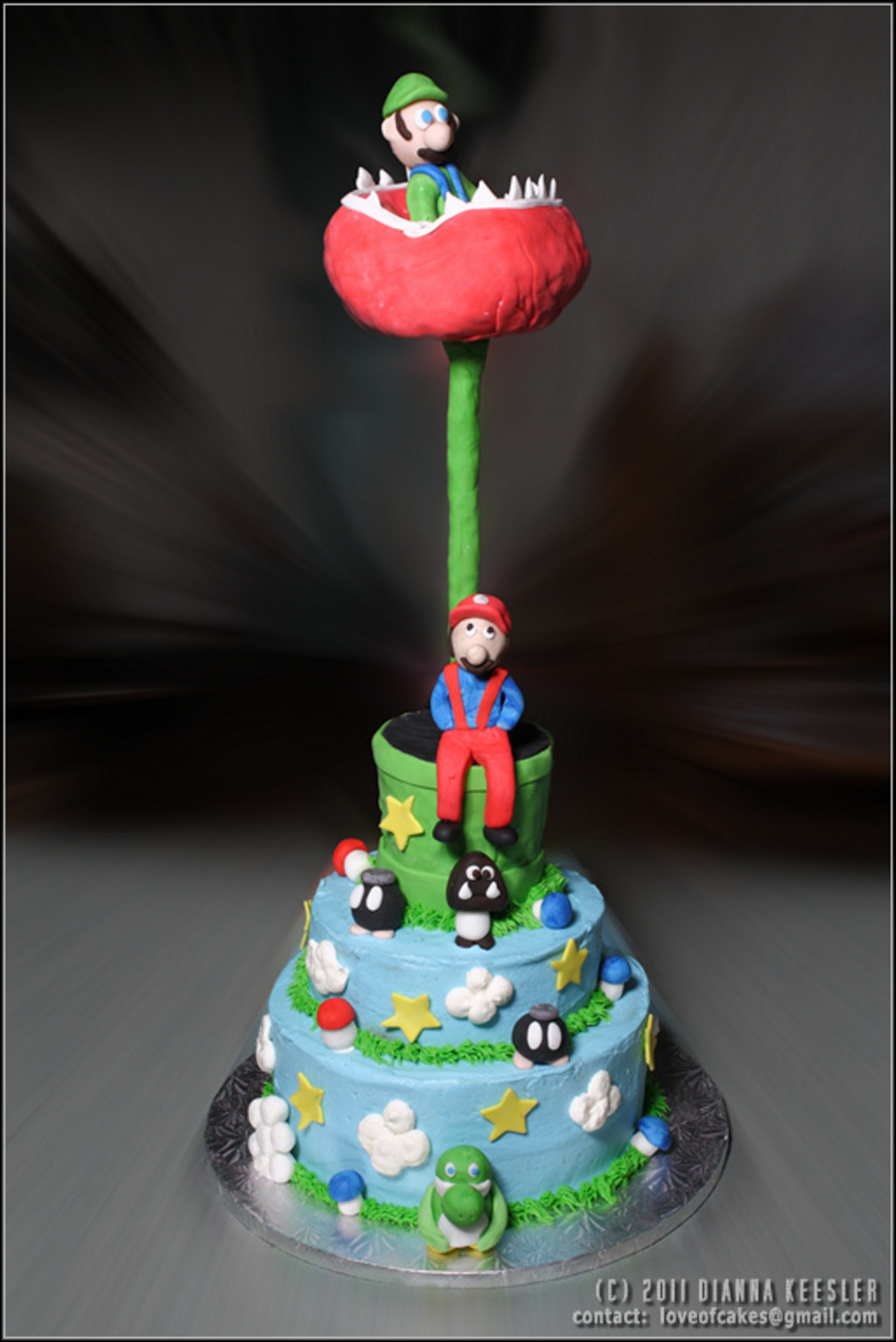 Mario And Friends on Cake Central