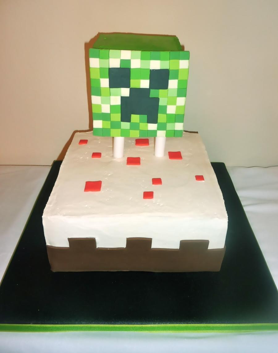 Minecraft Creeper Cake Ideas