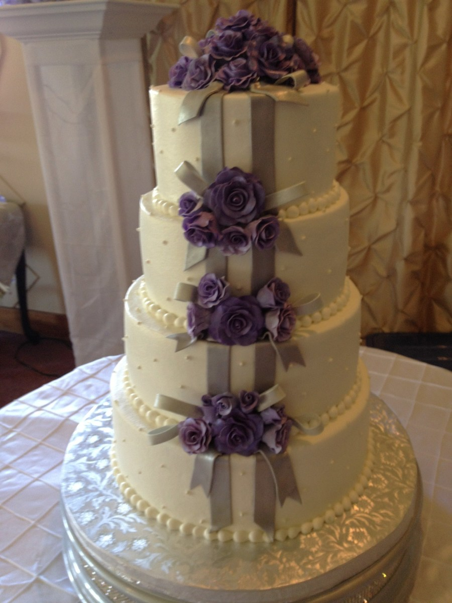 Roses, Ribbons, And Pearls on Cake Central
