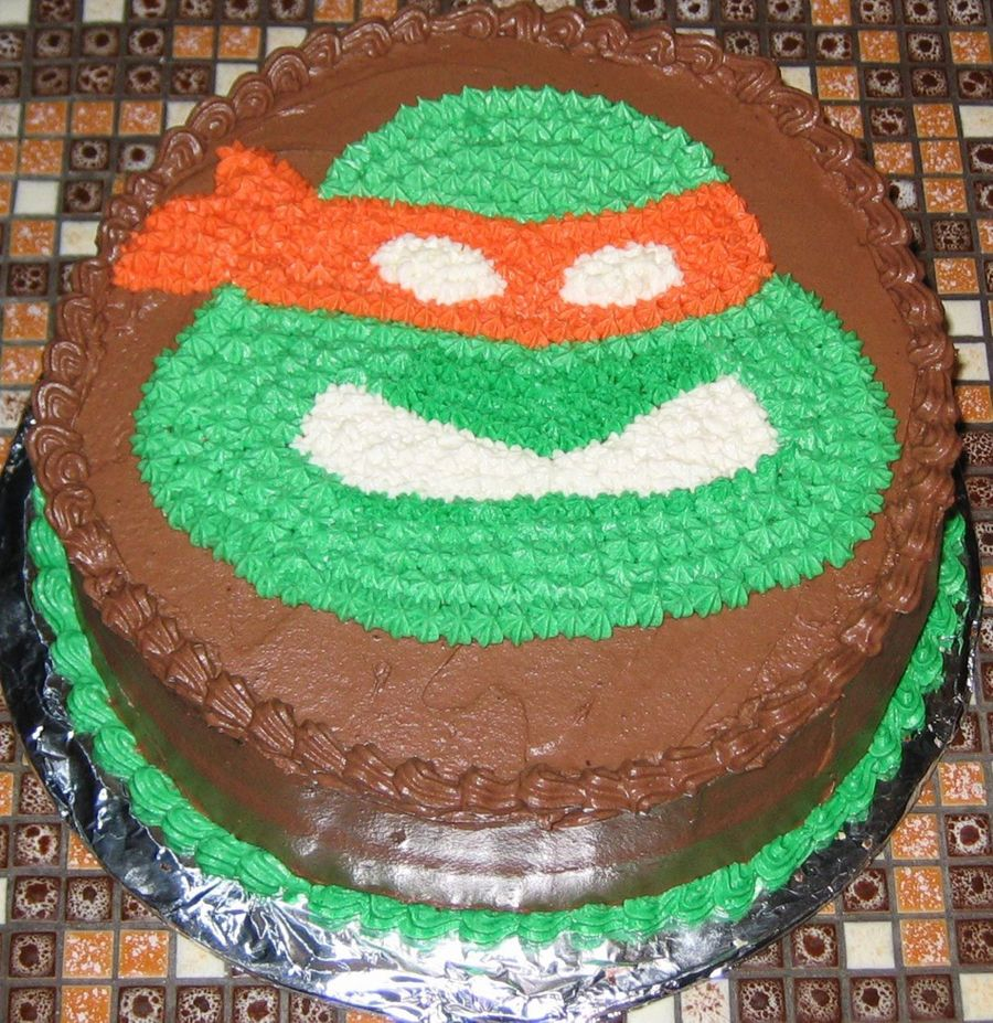 Teenage Mutant Ninja Turtle on Cake Central