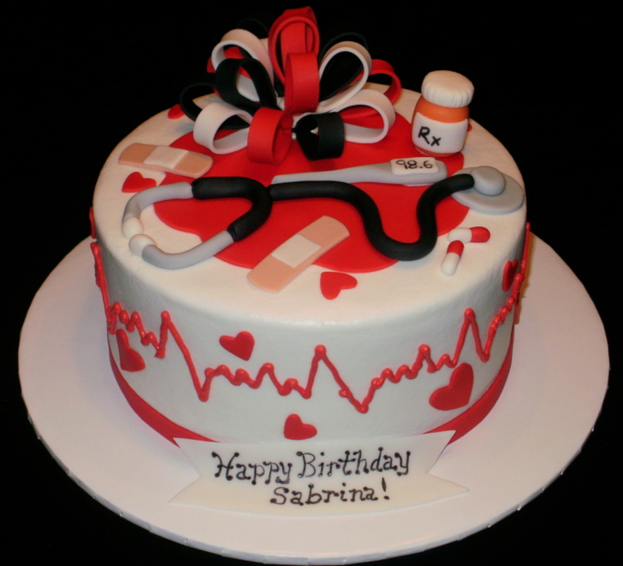 Nurse Birthday Cake Images