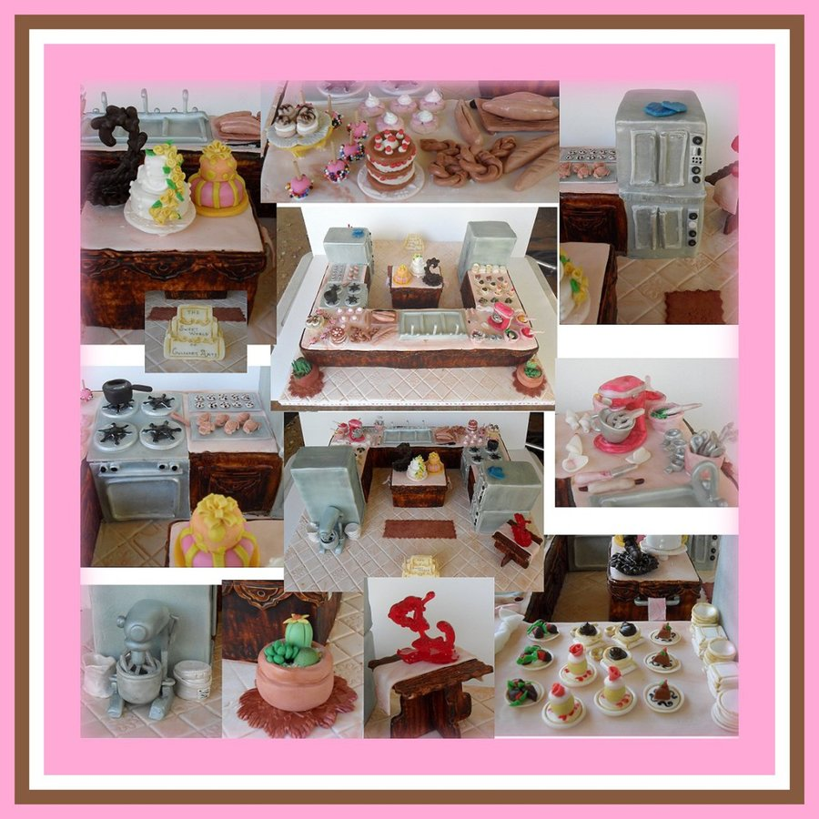 Sweets Kitchen This Is My Show Piece For The Take The Cake
