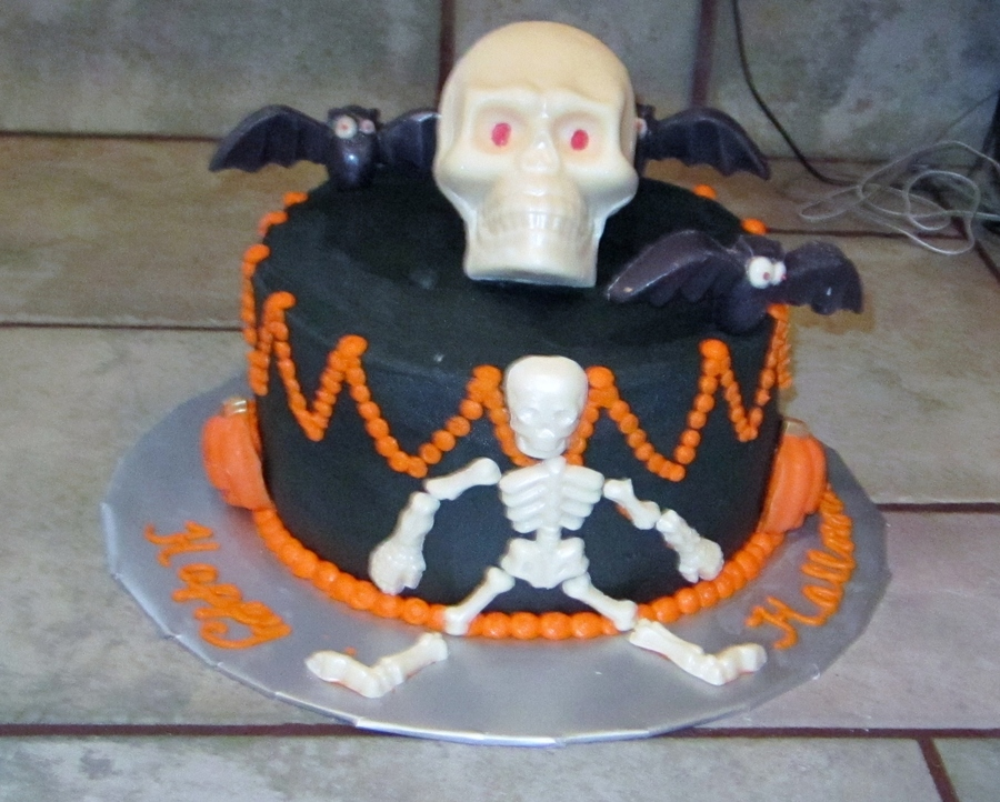 Halloween Cake For My Nephew on Cake Central