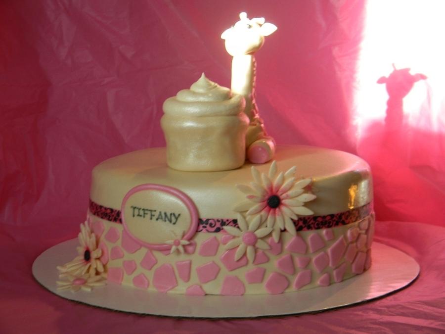 Pink Giraffe Birthday Cake Cakecentral