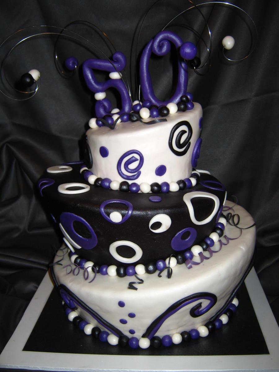 Sensational 50Th Birthday Cake Cakecentral Com Personalised Birthday Cards Arneslily Jamesorg