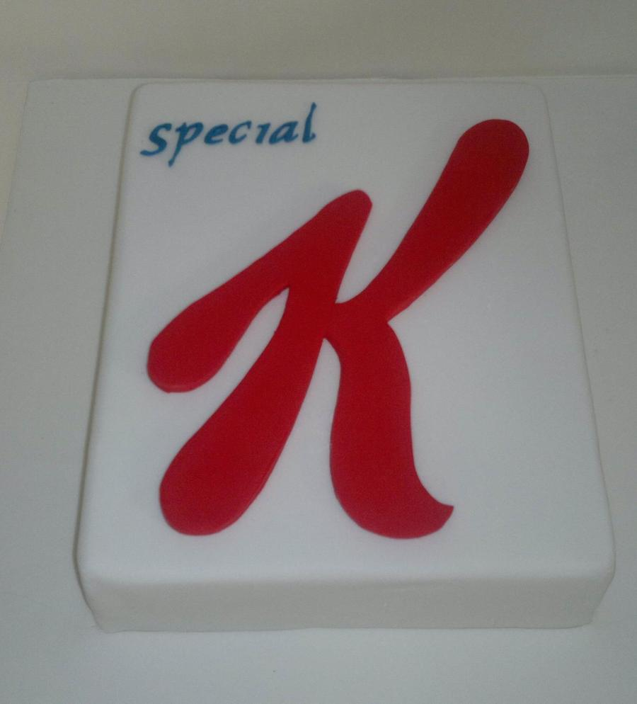 Special K Cake on Cake Central