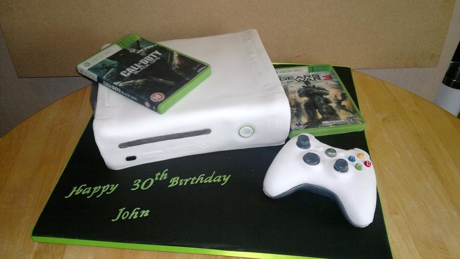 Xbox Cake - CakeCentral.com