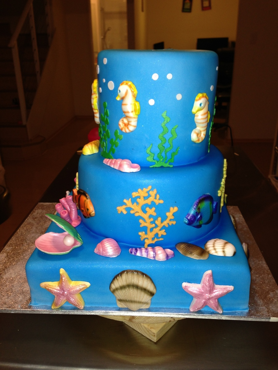 Year Old Girl Birthday Cake