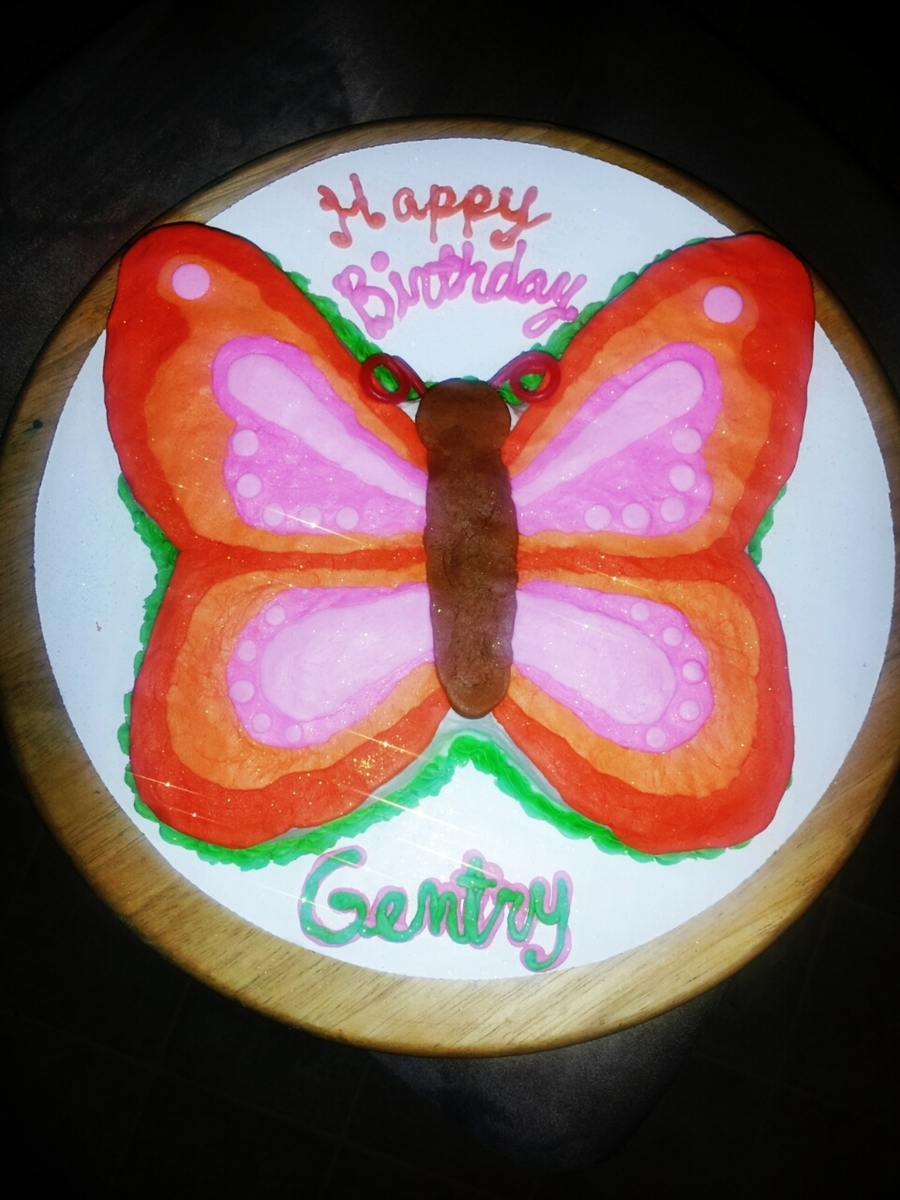 Butterfly on Cake Central