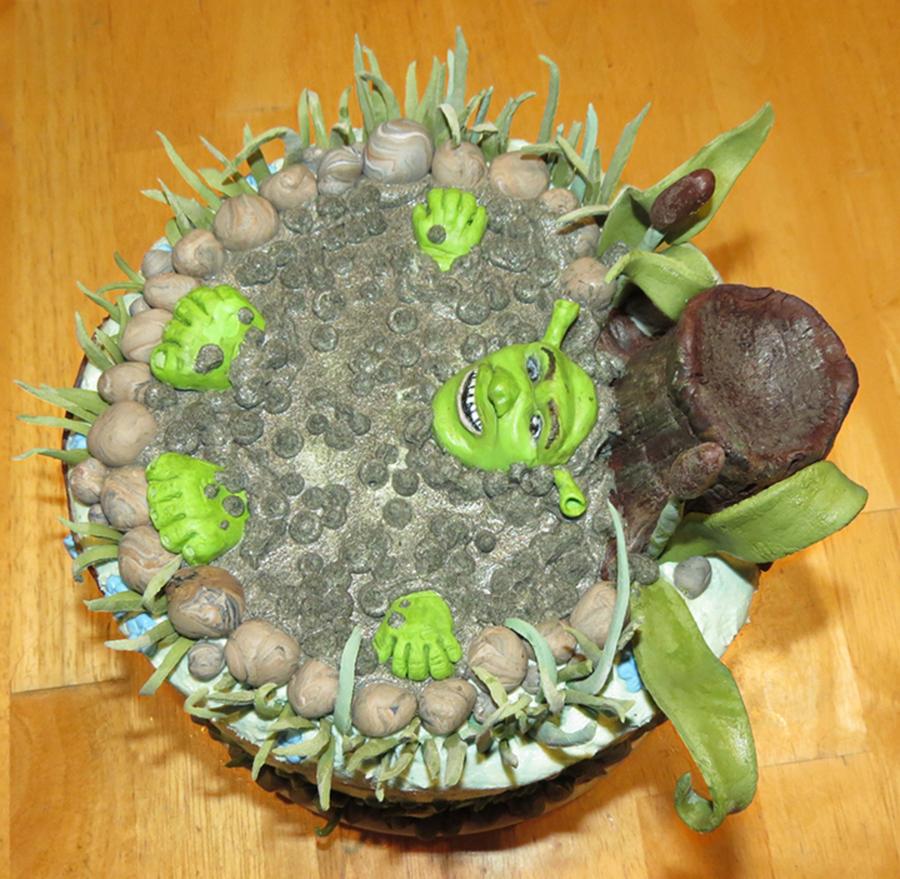 Shrek Cake Mix