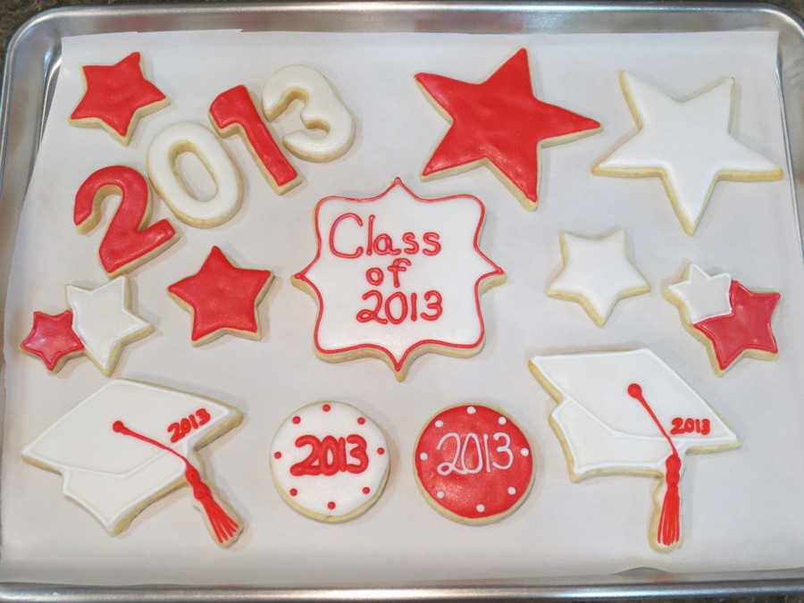 College Graduation Cookies on Cake Central