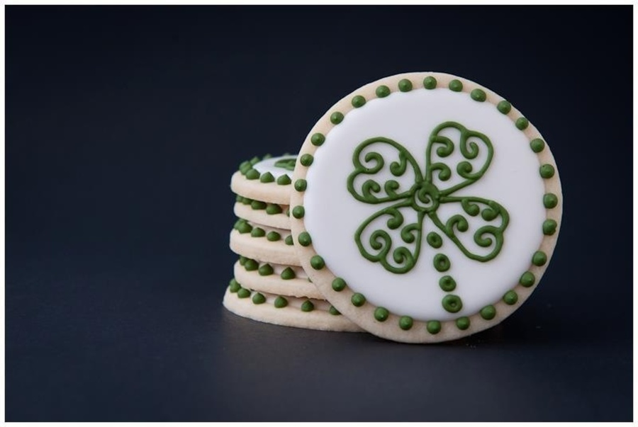 Shamrock Cookies on Cake Central