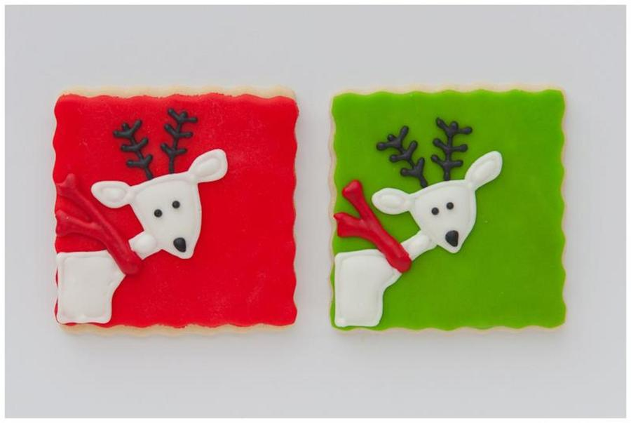 Reindeer Cookies on Cake Central