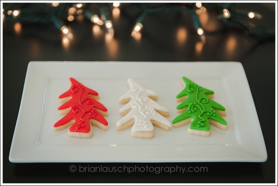 Whimsy Christmas Tree Cookies on Cake Central