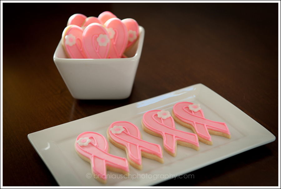Pink Ribbon Cookies on Cake Central