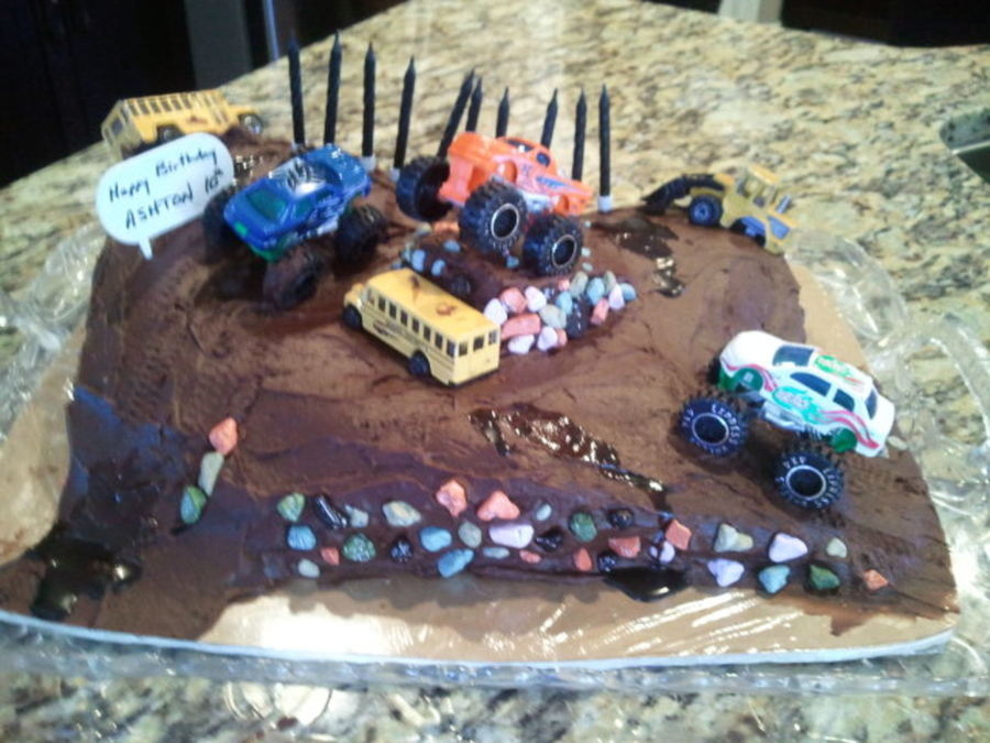 Mud Bogging Cake on Cake Central