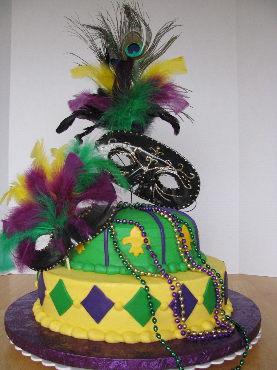 Mardi Gras Birthday on Cake Central