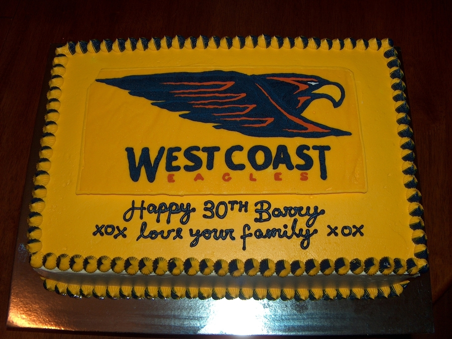 Images Birthday Cakes West Coast Eagles